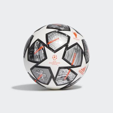 Mini ballon Finale 21 20th Anniversary UCL Blanc Football