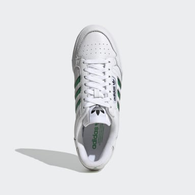 Chaussure Continental 80 Stripes Blanc Hommes Originals
