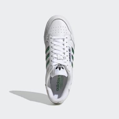 Heren Originals Wit Continental 80 Stripes Schoenen