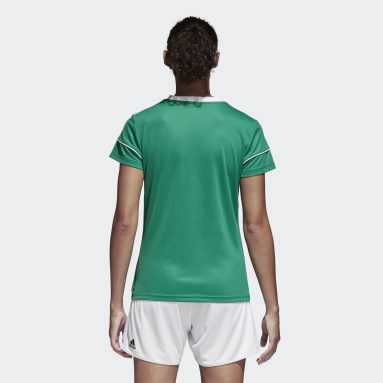 Maglia Squadra 17 Verde Donna Calcio