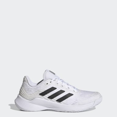 Women Table Tennis White Novaflight Volleyball Shoes