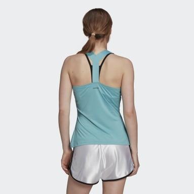 Women's Tennis Green Tennis Y-Tank Top