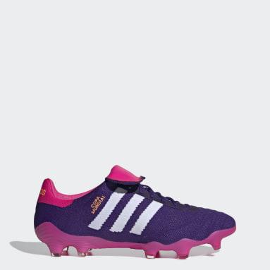 Chaussure Copa Mundial 21 Terrain souple Violet Football