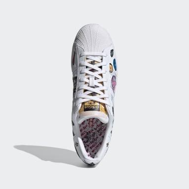 Men Originals White Superstar Shoes
