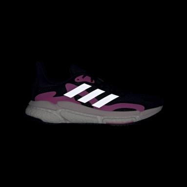 Women Running Black SolarBoost 3 Shoes