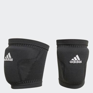 Volleybal Zwart Primeknit Volleybal Kniebeschermers
