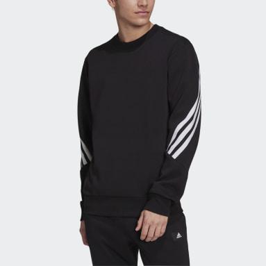 Herr Sportswear Svart adidas Sportswear Future Icons 3-Stripes Sweatshirt