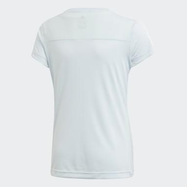 Camiseta Equipment Azul Niña Gimnasio Y Entrenamiento