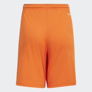Short Squadra 21 Arancione Ragazzo Calcio