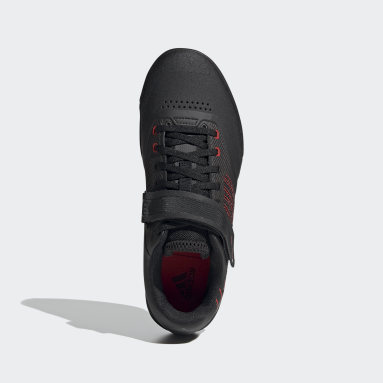 Men's Five Ten Red Five Ten Hellcat Pro Mountain Bike Shoes