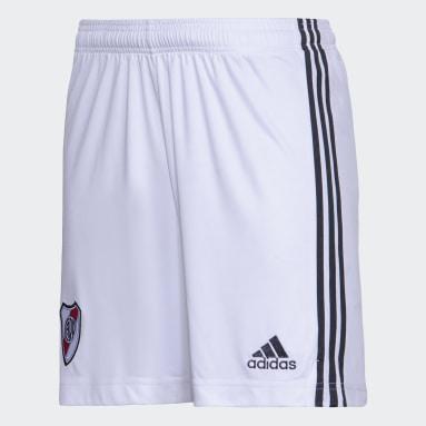 Shorts Tercer Uniforme River Plate Blanco Hombre Fútbol