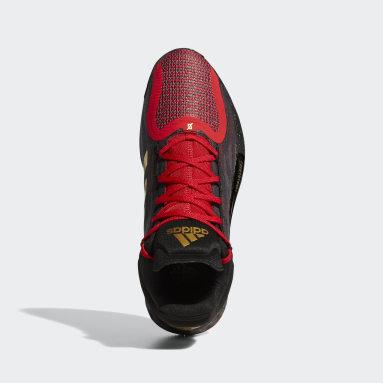 D Rose 11 Shoes Czerwony