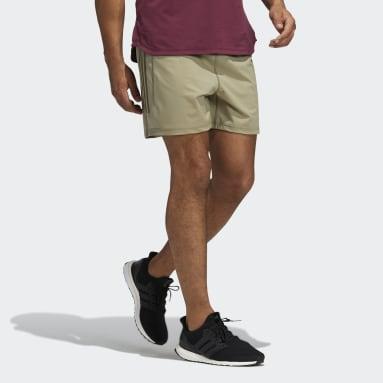 Pantalón corto Warp Knit Yoga Verde Hombre Estudio