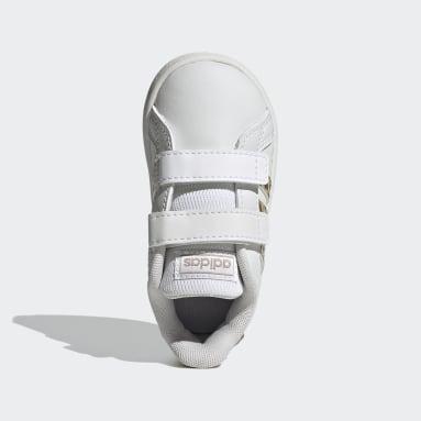 Kinder Sportswear Grand Court Schuh Weiß