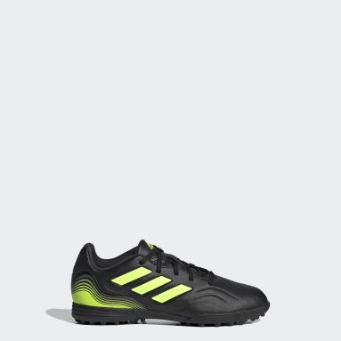 Children Soccer Black Copa Sense.3 Turf Shoes