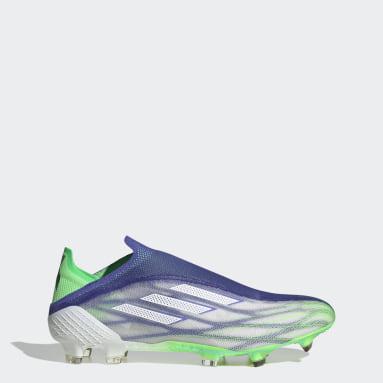 Soccer Blue X Speedflow+ Adizero Firm Ground Cleats