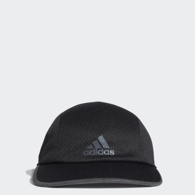 Koşu Siyah AEROREADY Runner Mesh Şapka