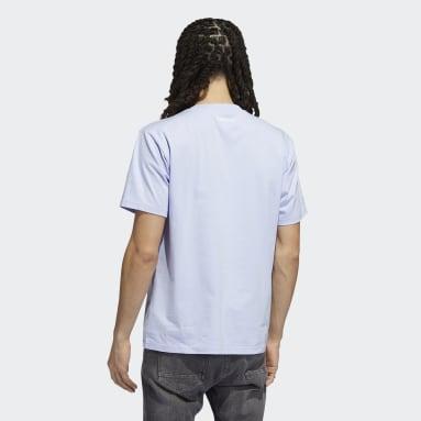 Men Originals Purple Originals Smile T-Shirt