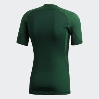 Men's Training Green Alphaskin Sport Tee