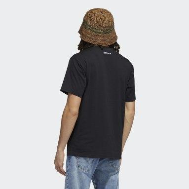 Camiseta Originals Smile Negro Hombre Originals