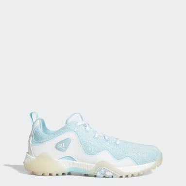 Women Golf Blue CodeChaos 21 Primeblue Spikeless Golf Shoes