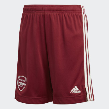 Short Away 20/21 Arsenal FC Bordeaux Bambini Calcio