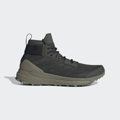 TERREX Green Terrex Free Hiker Parley Hiking Shoes