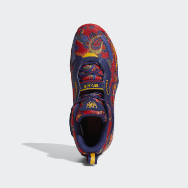 Basketball Blue Donovan Mitchell D.O.N. Issue #3 x Bel-Air Athletics Shoes