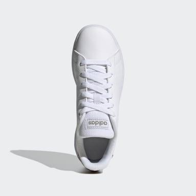 Tenis Advantage (UNISEX) Blanco Niño Essentials