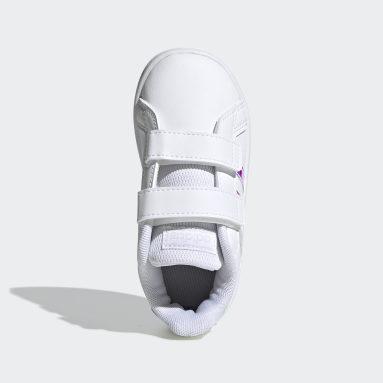 Chaussure Grand Court blanc Bambins & Bebes Essentials