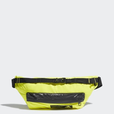 Cangurera Sport Casual Amarillo Mujer Training