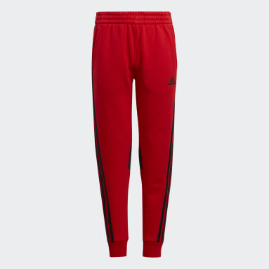 Youth Training Red Influence 3-Stripes Joggers