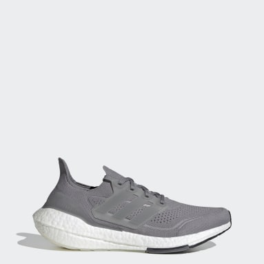 Running Grey Ultraboost 21 Shoes
