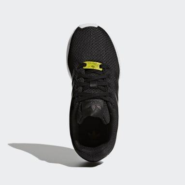 Chaussures ZX Flux Noir Enfants Originals