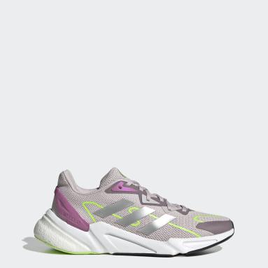 ผู้หญิง วิ่ง สีม่วง รองเท้า X9000L2