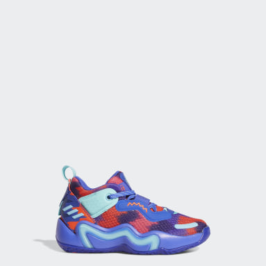 Children Basketball Blue D.O.N. Issue #3 Shoes