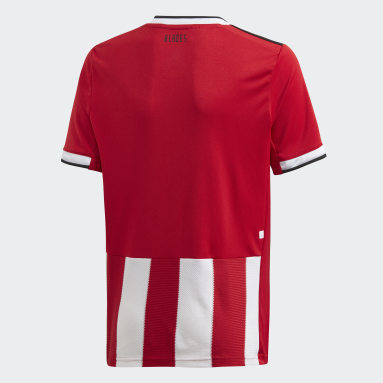 Boys Football Red Sheffield United Home Jersey
