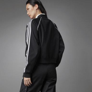 Dames Originals Zwart Asymmetric SST Trainingsjack