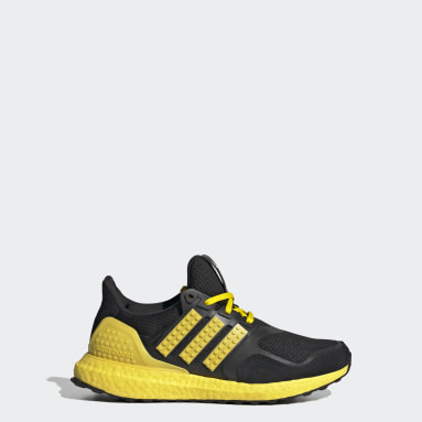 Barn Löpning Svart adidas Ultraboost DNA x LEGO® COLORS Running Shoes
