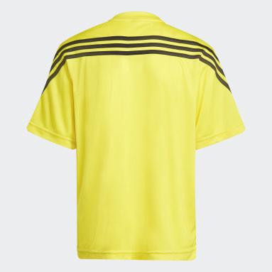 Çocuklar Training Sarı adidas x Classic LEGO® AEROREADY 3-Stripes Tişört
