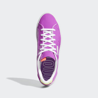 Tenis adidas Sleek Morado Mujer Originals