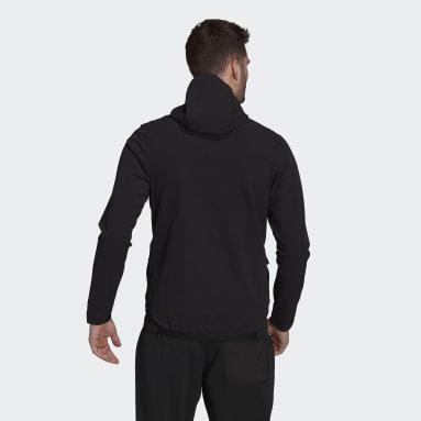 Muži TERREX černá Bunda Terrex Multi Stretch Softshell