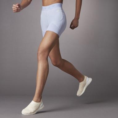 Women Training Purple Hyperglam Tight Shorts