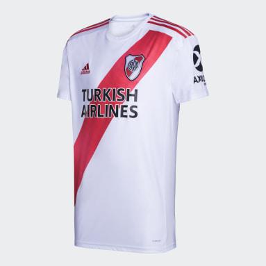 Camiseta Local River Plate Blanco Hombre Fútbol