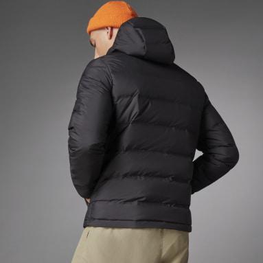 Chaqueta con capucha Helionic Down Negro Hombre Outdoor Urbano