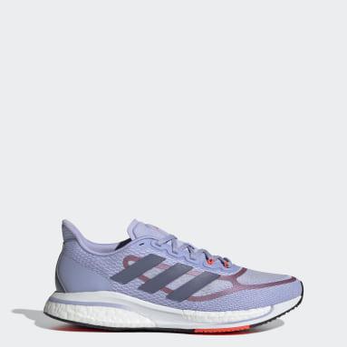 Women Running Purple Supernova+ Shoes