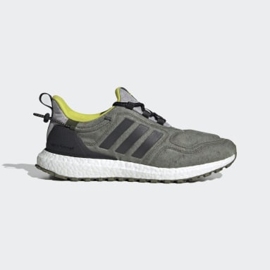 Men Running Green Ultraboost COLD.RDY Lab Shoes