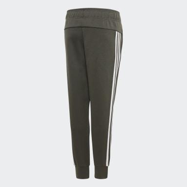 Pantalón Must Haves 3 rayas Verde Niña Training