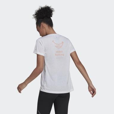 SIG TEE W Blanco Mujer Running