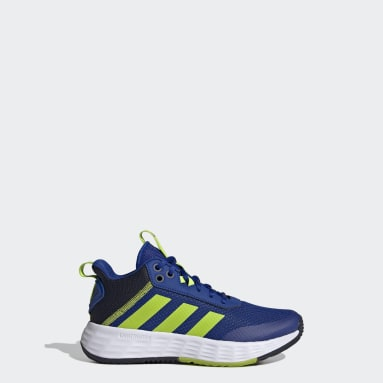 Kids Basketball Blue Ownthegame 2.0 Shoes